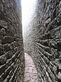 Curved passageways circling the Great Enclosure Great Zimbabwe.jpg