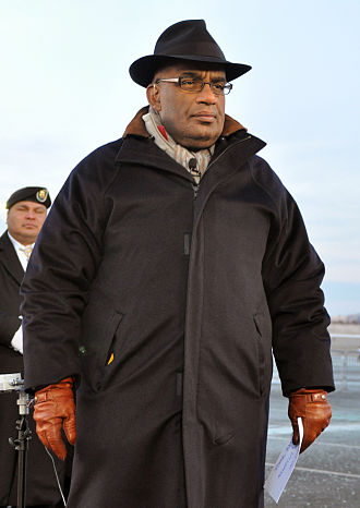 Al Roker - Roker outside the Pentagon.