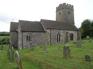 Cutcombe - Image: Cutcombe church