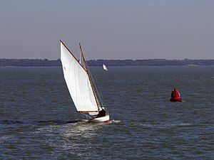 Cutter at Yarmouth Old Gaffers Festival 2009.jpg