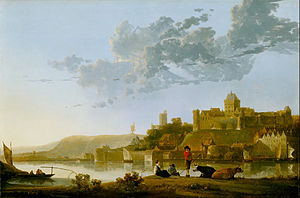 The Valkhof at Nijmegen - Image: Cuyp, Aelbert The Valkhof at Nijmegen Google Art Project