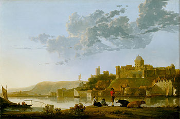 Cuyp, Aelbert - The Valkhof at Nijmegen - Google Art Project.jpg