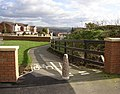 Cycle path, Redwood Drive, Bradley, Huddersfield - geograph.org.uk - 349442.jpg