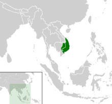 Cyclemys pulchristiata distribution map.png