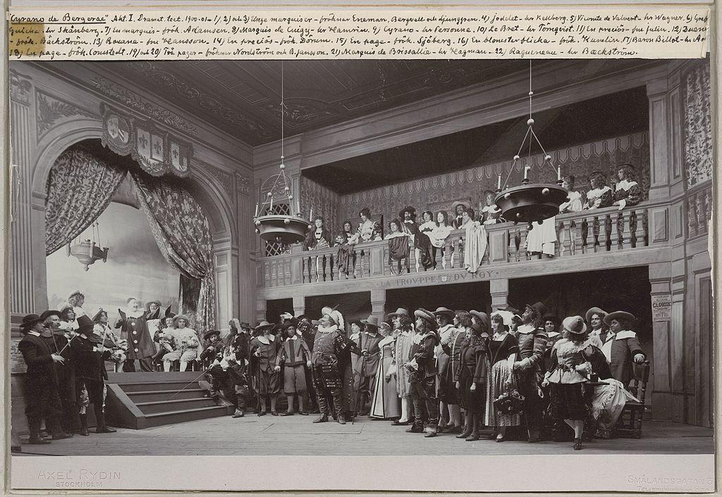 File Cyrano De Bergerac Act 1 Dramaten Stockholm Jpg Wikimedia Commons