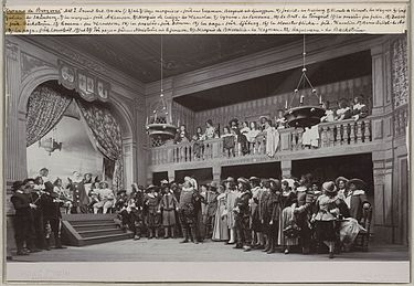 Cyrano de Bergerac. Act 1. Dramaten, Stockholm