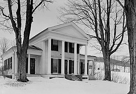 Cyrus Gates House, Old Nanticoke Road, Maine vicinity (Broome County, New York).jpg