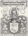 Dürer Wappen Laurenz Staiber 1520.jpg