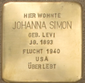D-BW-RA-Rastatt - Stolperstein - SIMON, Johanna.png