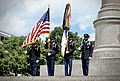 DCARNG Honor Guard display US Flag.jpg