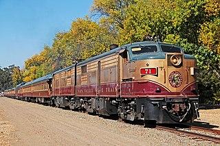 Napa Valley Wine Train Excursion train