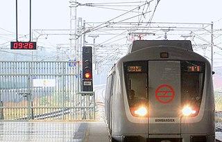 Bombardier Movia Metro units built by Bombardier Transportation