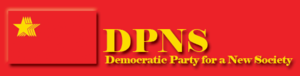 Democratic Party for a New Society - Image: DPNS Banner
