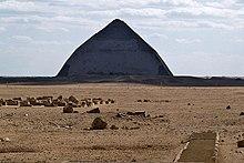 Die knickpyramide in dahschur