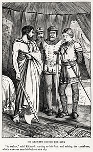 Dalziel Brothers - Sir Walter Scott - The Talisman - Sir Kenneth before the King.jpg
