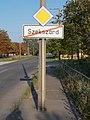 Damjanich Street overpass bridge, east, city limit, 2016 Szekszard.jpg