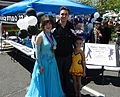Dance studio dancers at a street fair in Summit NJ.jpg