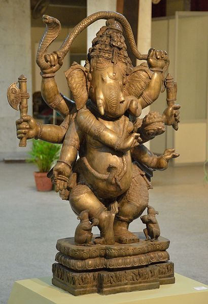 File:Dancing Ganesha - Brass - Circa 18th Century CE - Odisha - ACCN 95-2 - Indian Museum - Kolkata 2015-09-26 3946.JPG