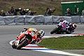 Dani Pedrosa and Jorge Lorenzo 2014 Brno 2.jpeg