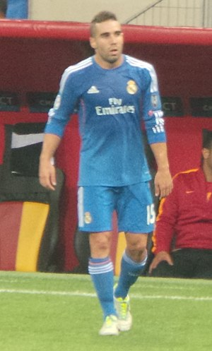Dani Carvajal - Carvajal playing for Real Madrid in 2013