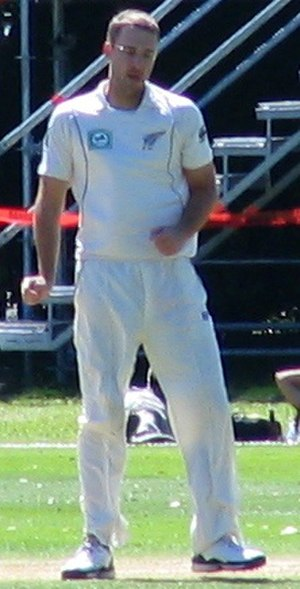 Daniel Vettori - Daniel Vettori at the University Oval in 2009