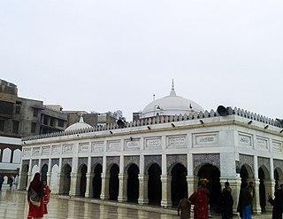 Pakpattan City in Punjab, Pakistan