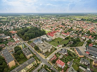 Janów Lubelski Place in Lublin Voivodeship, Poland