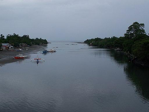 Davao river mouth