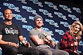 David Ramsey, Stephen Amell and Emily Bett Rickards HVFFSJ2017OTA-ALS-111 (39188092324).jpg