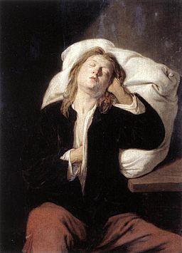 David Rijckaert (III) - Man Sleeping - WGA20590