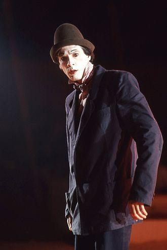 David Shiner (clown) - David Shiner (Circus Roncalli 1984)