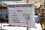 De MAYBE voor de wal bij Sail Amsterdam 2015 (03).JPG