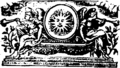 De viribus medicamentorum- or, a treatise of the virtue and energy of medicines Fleuron T112340-13.png