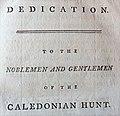Dedication of Robert Burns 1787 Dedication of his poems from the Edinburgh Edition.jpg