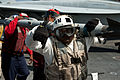 Defense.gov News Photo 110729-N-BT887-039 - U.S. Navy aviation ordnancemen transfer ordnance on the flight deck of the aircraft carrier USS John C. Stennis CVN 74 during preparations for.jpg