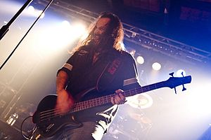 Deicide (band) - Bassist and vocalist Glen Benton is one of the two constant members of Deicide.