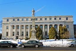 Delaware Countys domstolhus i Medie.