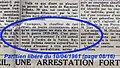 """Delbeke Raymond 1911-1961, (presse) 1961-04-10 """"... chauffeur de taxi...légion d'honneur à titre posthume..."""" (Parisien libéré p. 08-16 extrait (annoté).jpg"""