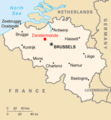Dendermonde location map.png