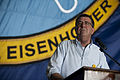 Deputy Secretary of Defense Ashton B. Carter addresses sailors onboard the aircraft carrier USS Dwight D. Eisenhower (CVN-69) as the ship operates in the U.S. 5th Fleet Area of Responsibility 121019-D-TT977-176.jpg