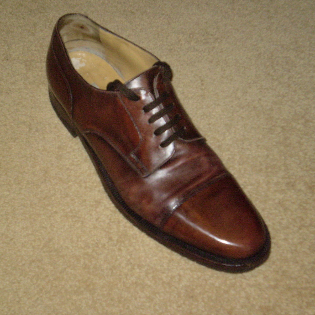 Mens Brown Shoes Wide Fit
