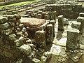 Detail from roman fort of Vindolanda 30.jpg