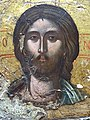 Detail of Christ in Deeisis (Prayer) - 17th Century Icon from Monastery of Holy Mary - National Historical Museum - Tirana - Albania - 02 (27929170537).jpg