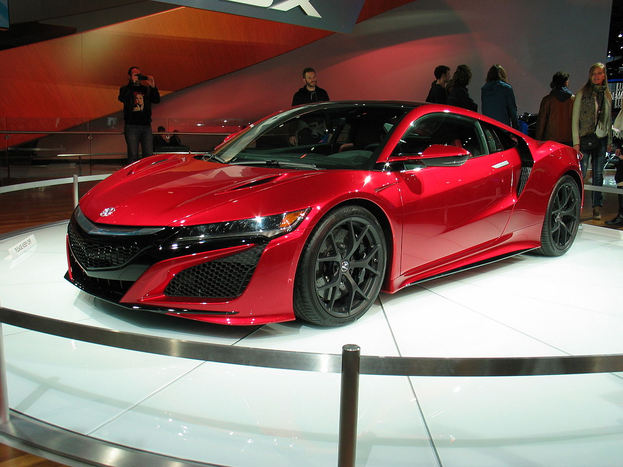 File Detroit Naias 2015 2016 Acura Nsx Jpg Wikimedia Commons