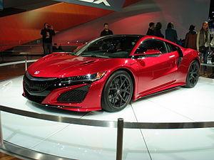 Honda NSX (second generation) - 2015 Acura NSX
