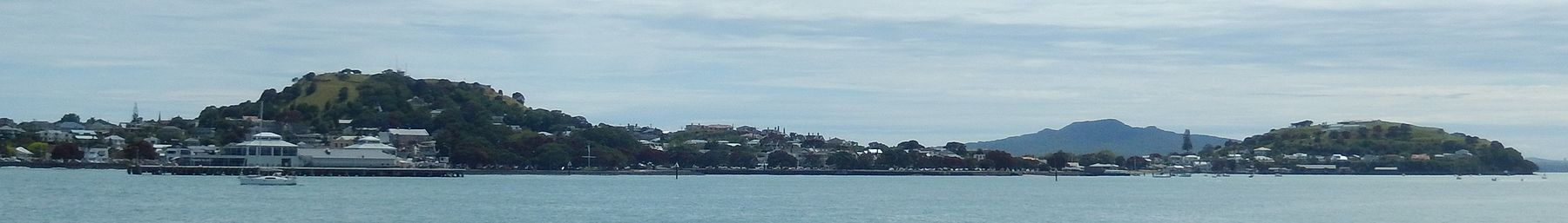 Devonport seen from a passing ferry