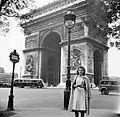 Diadalív (Arc de Triomphe) a Friedland sugárút végéről fényképezve. Fortepan 23035.jpg