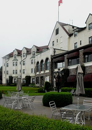 Digby Pines Golf Resort and Spa - Image: Digby Pines From Lawn