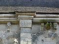 Dinan (22) Basilique Saint-Sauveur Costale sud de la nef Chapiteau 03.JPG