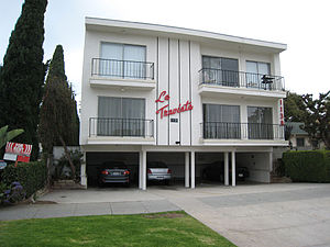 A Dingbat Apartment Building In Southern California